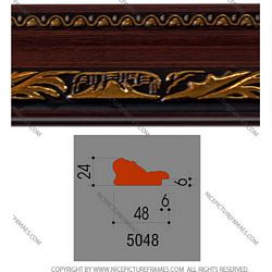 Ảnh mặt cắt Picture frames, photo frames model 5048BY