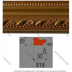 Ảnh mặt cắt Picture frames, photo frames model 518Y