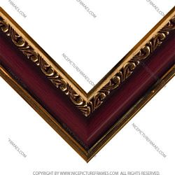 Frame profile for framing picture frames and photo frames model 3707B