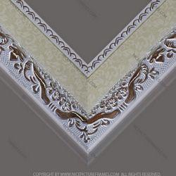 Frame profile for framing picture frames and photo frames model 604GR